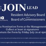 Resident Representative Recruitment
