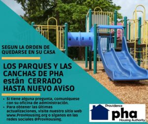 playgrounds closed espanol