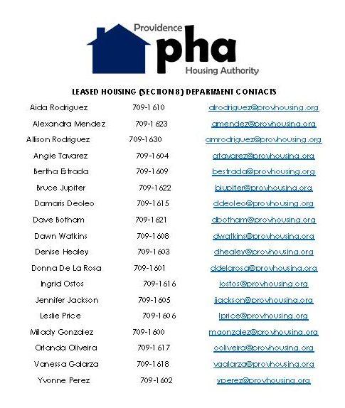 LEased Housing Program Reps